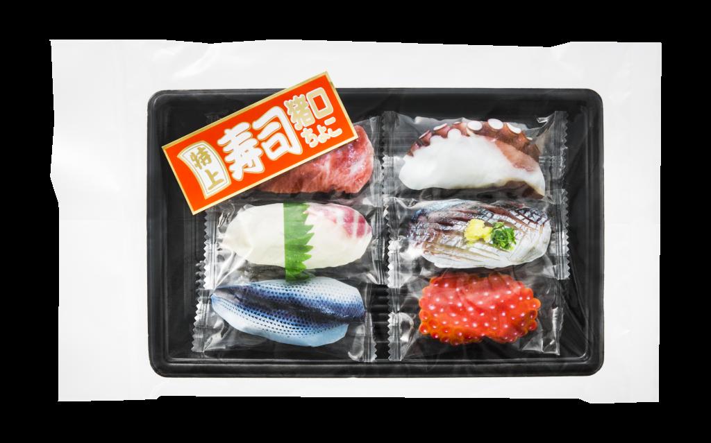 お寿司チョコ(6貫)